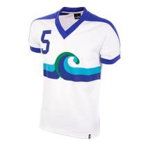 California Surf Away 1980 Short Sleeve Retro Shirt 50% cotton / 50% polyester