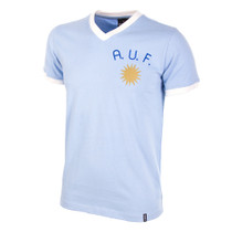 Uruguay 1970's Short Sleeve Retro Shirt 100% cotton