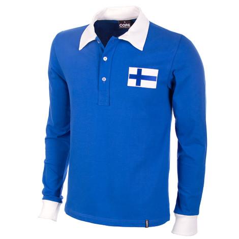 Finland 1955 Long Sleeve Retro Shirt 100% cotton