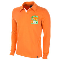 Ivory Coast 1980's Long Sleeve Retro Shirt 100% cotton