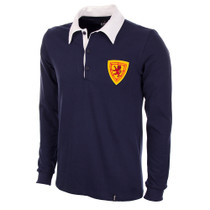 Scotland 1950's Long Sleeve Retro Shirt 100% cotton