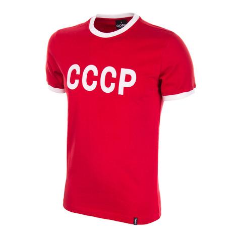 CCCP 1970's Short Sleeve Retro Shirt 100% cotton
