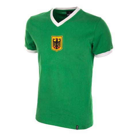 Germany Away 1970's Short Sleeve Retro Shirt 100% cotton