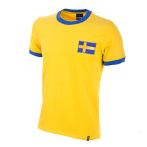 Sweden 1970's Short Sleeve Retro Shirt 100% cotton