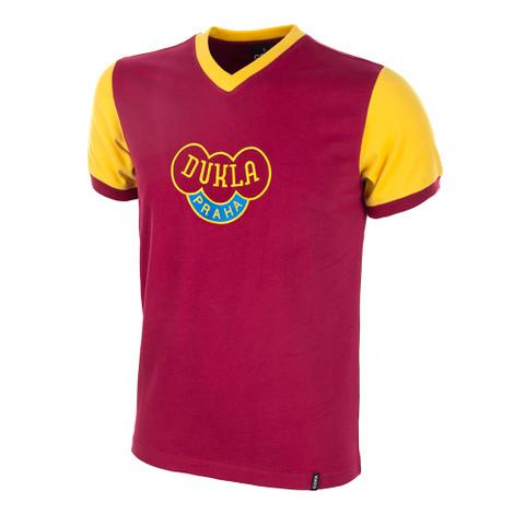 Dukla Prague 1960's Short Sleeve Retro Shirt 100% cotton