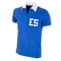 El Salvador WC 1982 Short Sleeve Retro Shirt 100% cotton