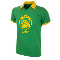 Zaïre WC 1974 Short Sleeve Retro Shirt 100% cotton