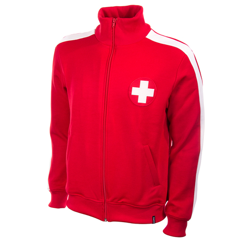 Switzerland 1960's Retro Jacket polyester / cotton