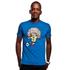 Carlos T-Shirt // Blue 100% cotton