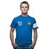France Capitaine T-Shirt // Blue 100% cotton