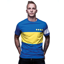 Boca Capitano T-Shirt // Blue 100% cotton