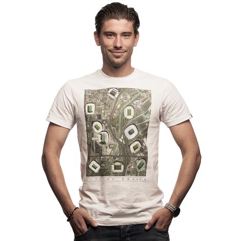 City of Dreams T-Shirt // White 100% cotton