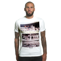 Pitch Invasion T-Shirt // White 100% cotton