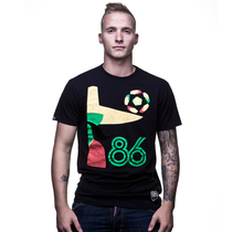 Mexico 86 Vintage T-Shirt // Black 100% cotton