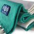 Deluxe Cashmere Football Scarf (Green/White)