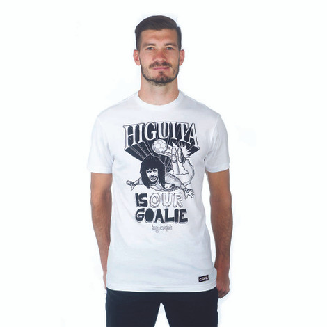 Copa Higuita is our Goalie T-Shirt