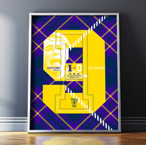 NineTeen Football Print
