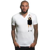 Secret Pocket V-Neck T-Shirt (BASIC)
