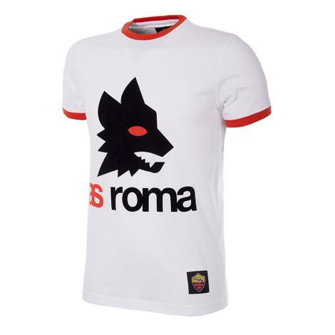 A.S Roma Retro Logo T-Shirt