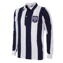 Retro Football Shirts - West Brom Home 53/54 - Navy/White - COPA-140