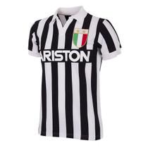 Retro Football Shirts - Juventus Home 1983/84 - Black/White - COPA 147