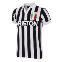 Retro Football Shirts - Juventus Home 1984/85 - Black/White - COPA 147