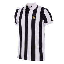 Retro Football Shirts - Juventus Home 1976/77 - Black/White - COPA 145
