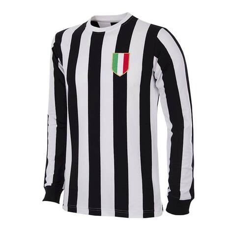 Retro Football Shirts - Juventus Home 1951/52 - Black/White - COPA 144
