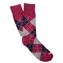 Copa Argyle Pitch Socks (Red/Navy/Grey)