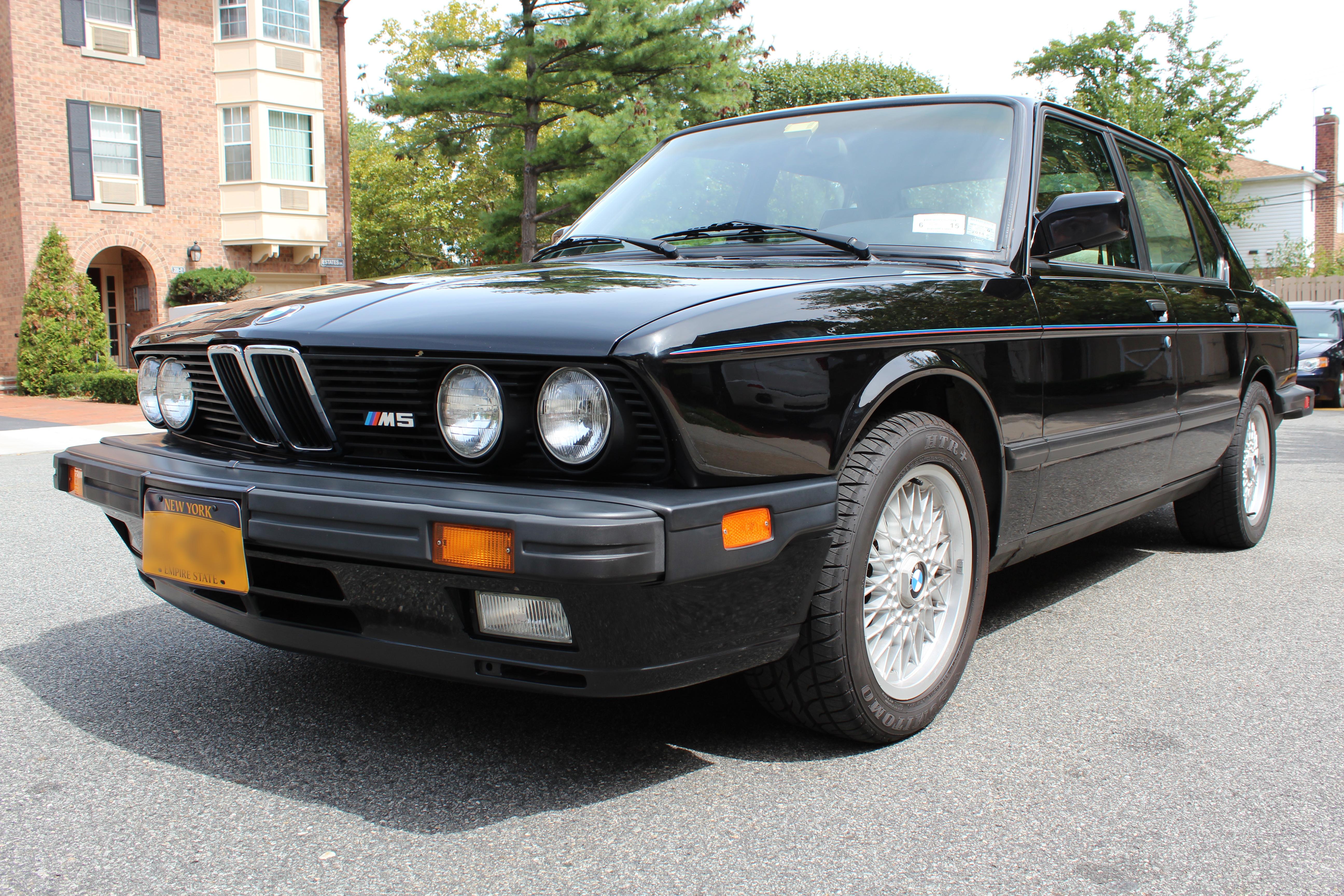 BMW M CocoMatscom - 1988 bmw m5