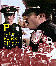 P is for Police Officer DVD