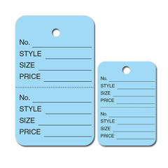 Perforated Garment Price Tags