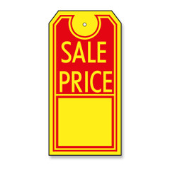 """Sale Price"" Merchandise Price Tag"
