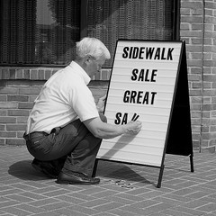 Basic A-Frame Sidewalk Sign