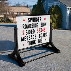 Swinger Roadside Street Sign
