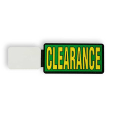 CLEARANCE Promotional Stick-On Flags