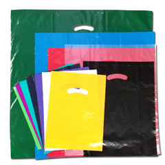 Super Gloss merchandise bags are available in many sizes and colors.