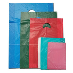 Lightweight merchandise bags come in many colors and sizes