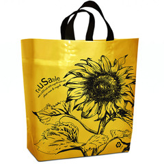 """Sunflower""  Yellow Reusable Shopping Bag 200-pack"