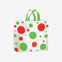 Dotted Holiday Gift Bags