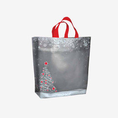 Winter Holiday Gift Bags