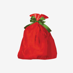 Big Red Jumbo Shopping Bags for Retail Store