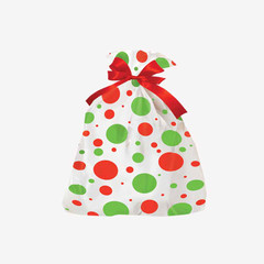 Dotted Holiday Shopping Bags For Retail Store