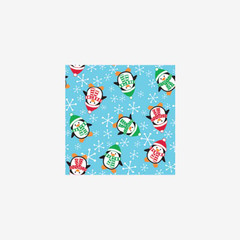 Roly Poly Penguin  Gift Wrap