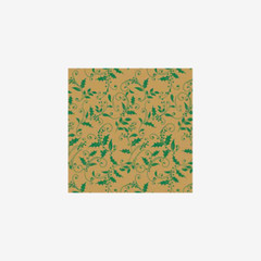 Totally Holly  Printed Tissue Paper, 200-Pack