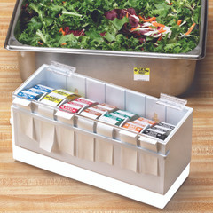 Plastic Food Labeling Dispenser