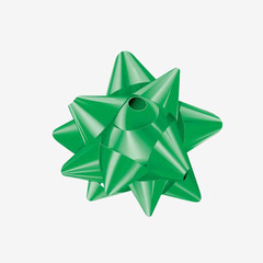 Emerald Green Star Bow -200/pack