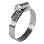 Norma 20-32mm All Stainless Steel Hose Clamp for Sump Pumps