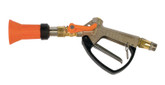 "Turbo 400 spray metal handle gun with 1/2"" male BSP brass inlet and 1.5mm nozzle (with swivel inlet)"