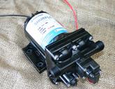 Shurflo 4138 131 E65 (Old 3901-1216)  Automatic 24v DC Pump (Santoprene/EPDM) 11.3 L/Min Max - Marine Grade with bypass